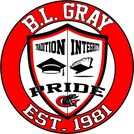 B L Gray Shield