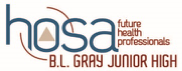 This is the image for the news article titled B. L. Gray HOSA Shares A Reminder